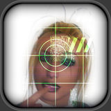 High-tech face technology background Royalty Free Stock Images