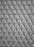 High Tech Futuristic Aluminum Wall Stock Photo