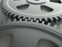 High tech gears Royalty Free Stock Image