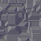 High tech geometric blockiness Stock Photo