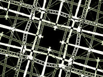 High Tech Grid Background Stock Images