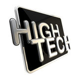 High tech icon isolated on white Royalty Free Stock Photos
