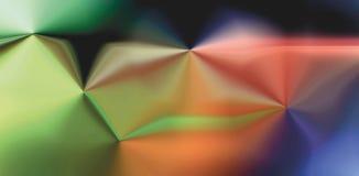 High-tech kleurenachtergrond met heldere gradiënt en onduidelijk beeldgevolgen vector illustratie