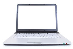 High tech laptop Stock Images