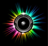 High Tech Music Disco Background Royalty Free Stock Image