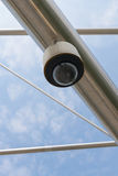 High tech security camera Royalty Free Stock Image