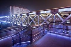 High-tech pedestrian bridge, Beijing Royalty Free Stock Photography