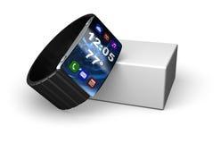High-tech Slim Horloge Royalty-vrije Stock Fotografie