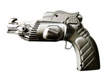High tech space handgun  Royalty Free Stock Images