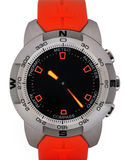 High tech sport wrist watch Royalty Free Stock Image