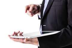 High tech tablet Royalty Free Stock Images