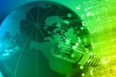 High-tech technologieachtergrond Stock Fotografie