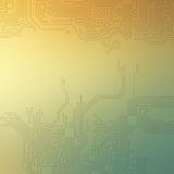 High-tech technology abstract background Royalty Free Stock Photos