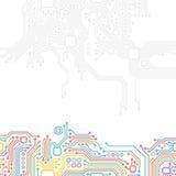 High-tech technology abstract background Stock Photos