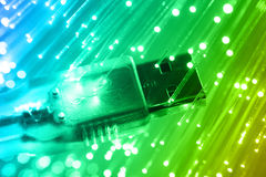 High-tech technology  background Royalty Free Stock Images