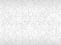 Circuit board vector illustration. High-tech technology background texture. Circuit board vector illustration Royalty Free Stock Photos