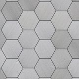 High Tech Tiled Aluminum Background Stock Photo