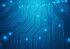 High tech vector background Stock Image