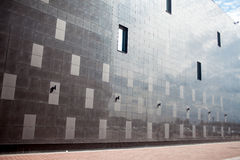 High-tech wall, square illustration Stock Photo