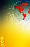 High tech world royalty free illustration