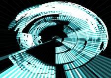 High-Teche abstrakte Hintergrundentwurfs-Reihe lizenzfreie stockfotografie