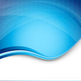 High-Teche blaue moderne Hintergrundschablone Lizenzfreies Stockbild