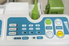 High-Teche medizinische Ausrüstung im Krankenhaus Lizenzfreies Stockfoto