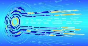 High-Techer Hintergrund Lizenzfreies Stockfoto