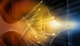 High-Techer technologischer Hintergrund Stockfotos