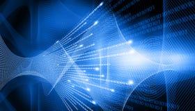 High-Techer technologischer Hintergrund Lizenzfreie Stockbilder
