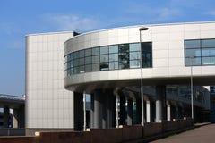 High-Teches Artgebäude Stockbild