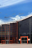 High-Teches Artgebäude Lizenzfreies Stockfoto
