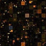 High-Teches Brown packt Hintergrund ein Lizenzfreies Stockfoto