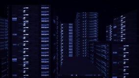 High-Teches Colums für Cyber-Fahrzeuge Lizenzfreie Stockbilder