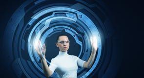 High technologies of future Stock Photos