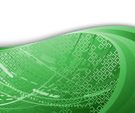 High technology background green color Stock Photo