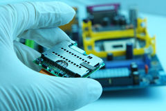 High Technology Chip Stock Images