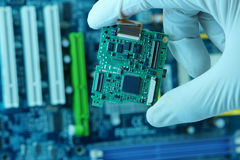 High technology chip Stock Photography