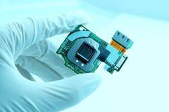 High technology chip quartz Royalty Free Stock Photos