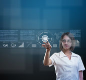 High technology concept Stock Images