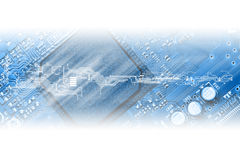 High technology concept Stock Photography
