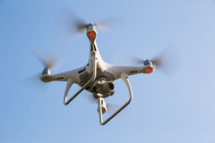 High technology Drone of photographer and VDO maker royalty free stock photo