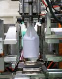 High technology Plastic bottle manufacturing industrial Royalty Free Stock Photography