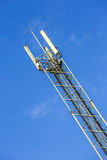 A high telecommunication network antenna outside Royalty Free Stock Image