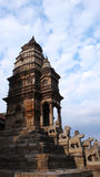 High temple in Kathmandu Stock Photography