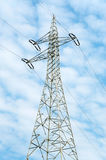 High tension line Stock Image