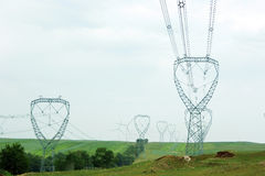 High-tension line Stock Photos