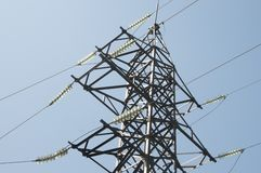 High-tension line Royalty Free Stock Image