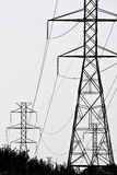 High Tension Lines. Power Lines in VA Stock Images
