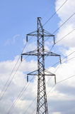 High-tension power line Royalty Free Stock Photography